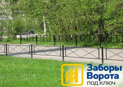 Забор газон2