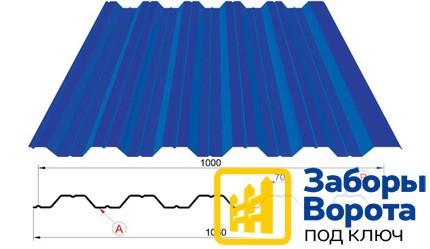 Металлопрофиль для кровли НС-35х1000