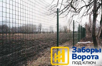 Забор из сварной сетки 3
